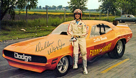 The History Of Women Fuel Funny Car Drivers