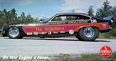 Drag Racing List - 70s Funny Cars: Round 36 -- The East Coast