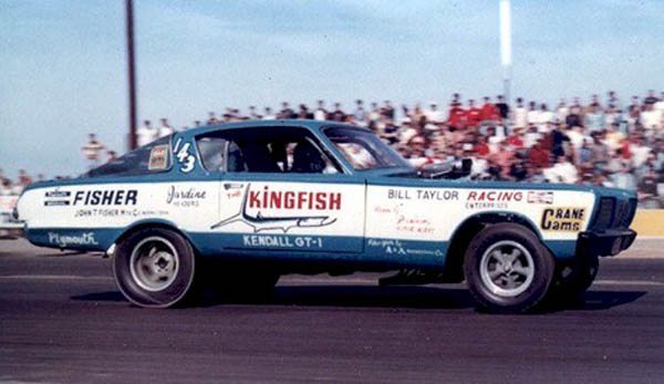 Blair S Speed Shop Funny Car Poster