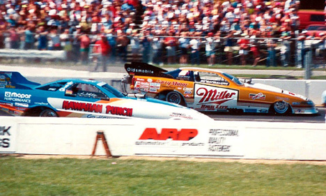 Dannys Auto Parts >> Drag Racing List - Danny's Top 10 AA/Funny Cars of the 80s