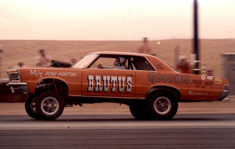 Drag Racing List 60s Funny Cars Round 3