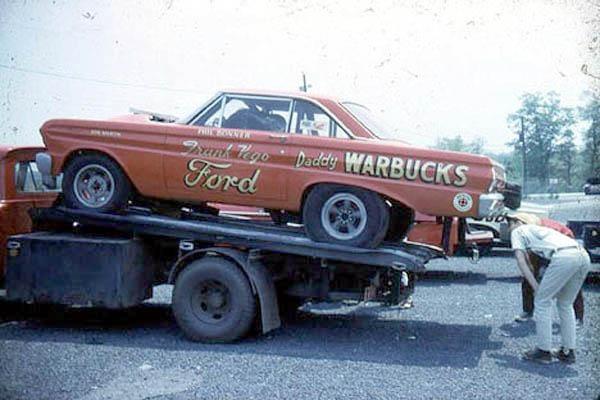 Daddy Warbucks Race Car
