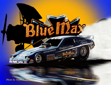 Related Pictures blue max racing blue max funny car nostalgia ...