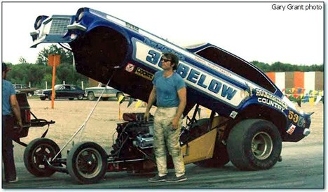 Danny Dakota Race Car Driver