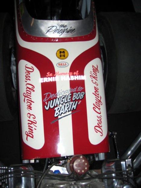 Drag Racing List - Fuel Dragster Cowl Art