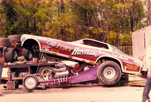 Ed Mcculloch Otter Pops 1991 Oldsmobile Nitro Funny Car By