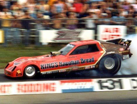 Drag Racing List Funny Cars Mid Eighties