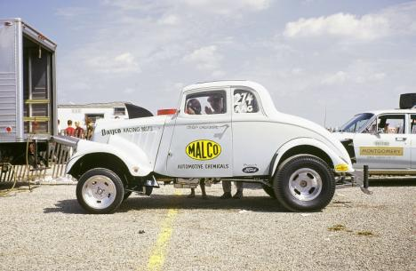 Drag Racing List Gasser Great Ohio George Montgomery