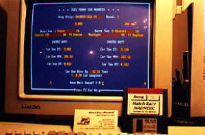 "The MRM ""announcer screen"" display."