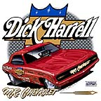 Dick Harrell -- Mr. Chevrolet (front). Click to see the full size design