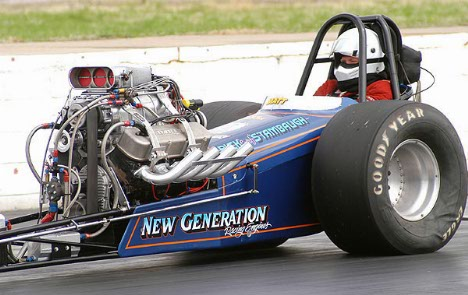 Drag Racing Picture of the Day - Matt Stambaugh's Nostalgia