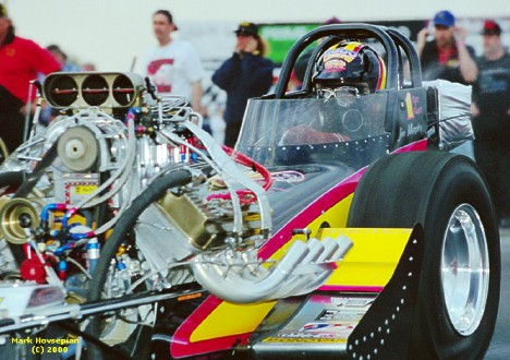 Jim Murphy Launches Hard at the 2000 Bakersfield March Meet. Photo by Mark Hovsepian