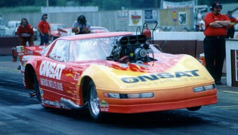 When the Tomato Had Doors. Scotty Cannon's Corvette Pro Mod. Photo by Ernie Broughton
