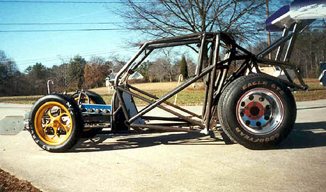 Check out the wild chassis. Photo by Berserko Bob
