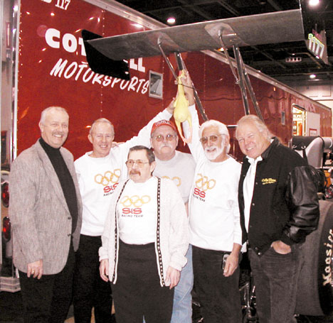 East Coast Gasser Geezers at the 2003 Washington World of Wheels. Photo thanks to Len Cottrell