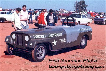 Scottie Scott's Secret Destroyer borrowed from the names of both top Jeeps. Fred Simmons photo