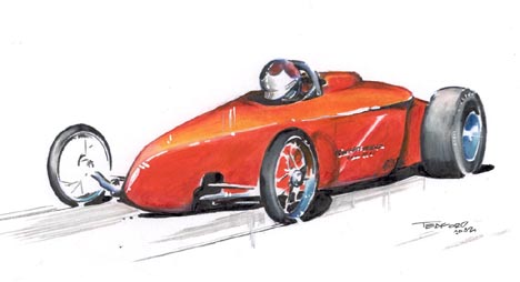 The Speed Sport Roadster by Jeff Teaford