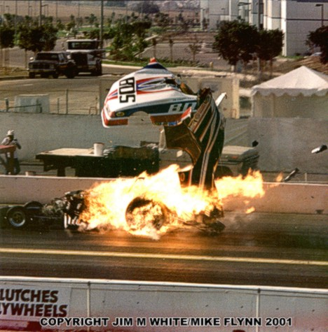 Al Hoffmann goes BOOM big time at Pomona. Photo by Jim M White