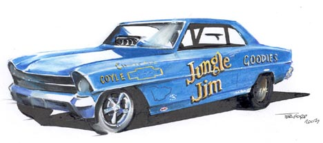 The Jungle Jim Chevy II by Jeff Teaford