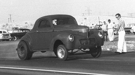 Mystery Willys at San Gabriel 1962. Photo by Steve Gibbs