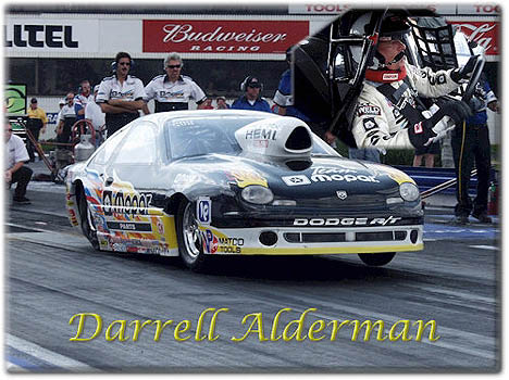 Darrell Alderman was a surprise Pro Stock winner in Gainesville. Photo by Jerry Battle