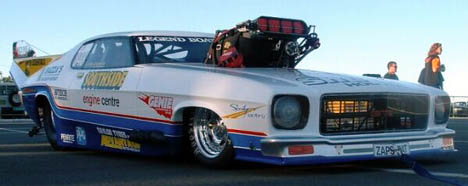 John Zappia's lowriding Holden Monaro is now the world's quickest steel bodied car. Paul Carey photo