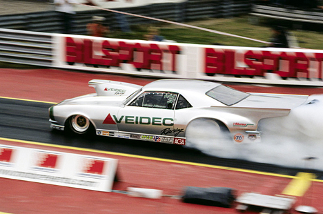 Pro Mod ambassador Hakan Neilson is racing in the states in 2002/2003. Photo by Rob Cook
