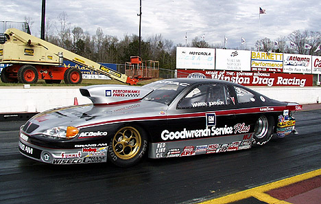Being on top of the NHRA Pro Stock pack requires constant testing. Photo by Michael Fischbeck