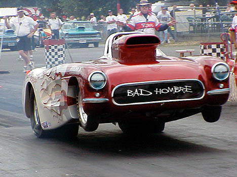 Jim Hughes Corvette is indeed one bad hombre. Photo by Paul Fink