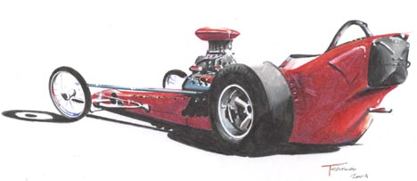 1962 Greer-Black-Prudhomme AA/Fuel Dragster by Jeff Teaford