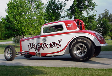 The former primer red Flat Top is now the awesome Hellzapoppin. Photo by Dave Cox