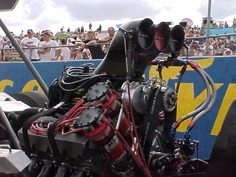Aussie Blown Fuel Motor. Photo by Ash McFee