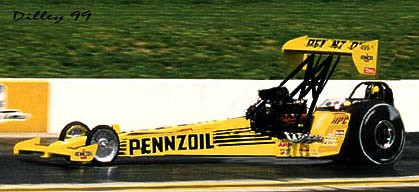 What if? Eddie Hill's Pennzoil FED. Photo/manipulation by Ron Dilley