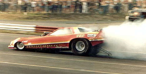 Dennis Geisler's Dodge Challenger made some noise in the '80s. Photo by Ralph Reiter