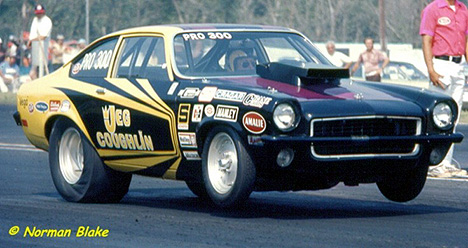 Jeggie and Troy weren't the first Coughlins in Pro Stock. Here's dad Jeg in 1973. Photo by Norman Blake