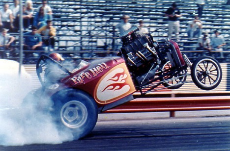 Pure Hell and the Smoky Wheelstand. Photo by L&M courtesy of Rob Potter