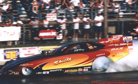 Scott Weney took the Sheetz Racing 2001 Corvette to a win and a bigger points lead in Epping. Photo by James Morgan