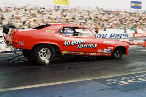 Willie Johnson's Chevy Nova fits the description of the working man's funny car. Photo by Phil Elliott