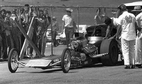 Don Garlits won the Mile High Nats in 1963. Did you even know the race was held then? Photo by Pete Garramone