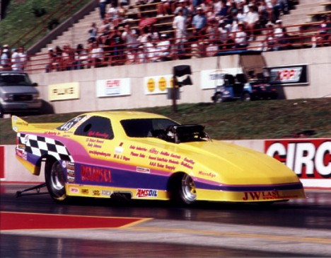 Lyle Greenberg at the 1999 Mile High Nationals. Photo by Dave Kommel