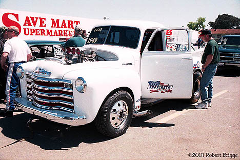 Chris Zynda's '49 Chevy Pickup C/Gasser. Photo by Robert Briggs