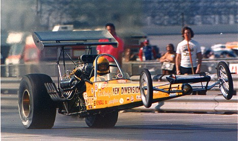 Drag racing lost another legendary racer this past week. RIP Clayton Harris. Photo by Bob Plumer