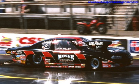 Ron Miller's 2000 IHRA Pro Stock Monte Carlo. Photo by James Morgan