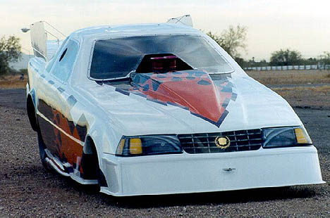 "Buzzz's Caddy gives new meaning to the phrase ""Go Fast with Class!"" Photo thanks to Buzzz Miller"