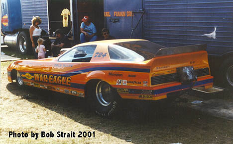 Dale Pulde's War Eagle Trans Am was a work of art and ran hard. Photo by Bob Strait