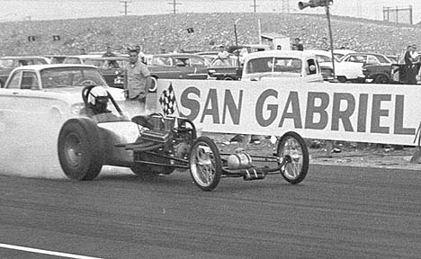 San Diego's Johnson & Abbott at San Gabe 1962. Photo by Steve Gibbs