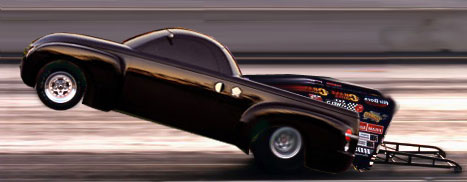 The Chevy SSR would have made an excellent Pro Stock Truck entry. Oh well... Photo by Tim Woods