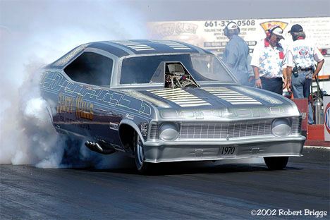 Randy Walls' restored Super Nova is as nice a Classic Funny Car as you will see. Photo by Robert Briggs