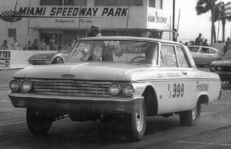 The Fermier Bros. Ford ran hard in 1967. Photo by SSDI