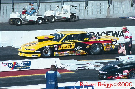 Jeg Coughlin put the venerable name of Jeg's Automotive into the World Championship in NHRA Pro Stock. Photo by Robert Briggs